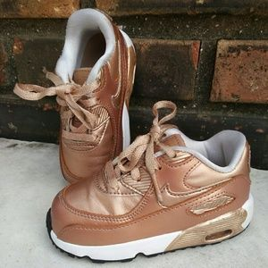Nike Air Max Size 7C Rose Gold